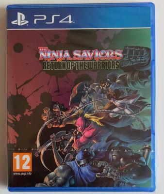 美琪PS4遊戲 忍者武士 戰士歸來 THE NINJA SAVIORS 中文英文可雙人