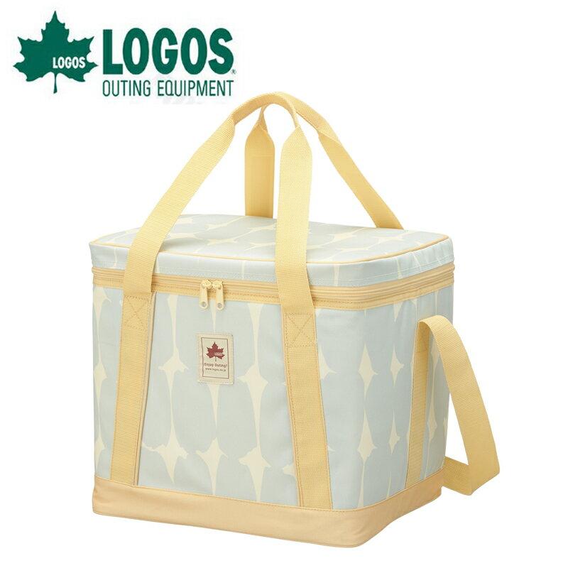 【露營趣】中和安坑 LOGOS LG81670701 Insul 10 軟式保冷提箱 25L 大圓點 軟式保冷袋 摺疊冰箱 保冰箱 保溫袋 冰桶 野餐袋