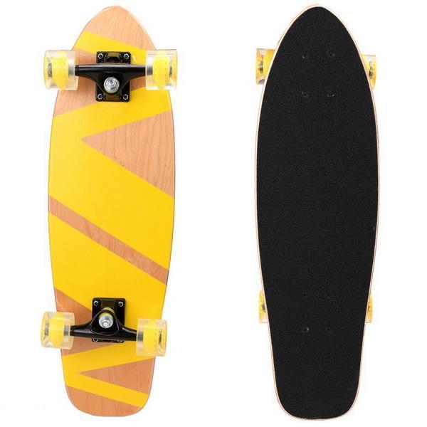 27inch Wooden Cruiser Style Skateboard Deck Skate Board 2