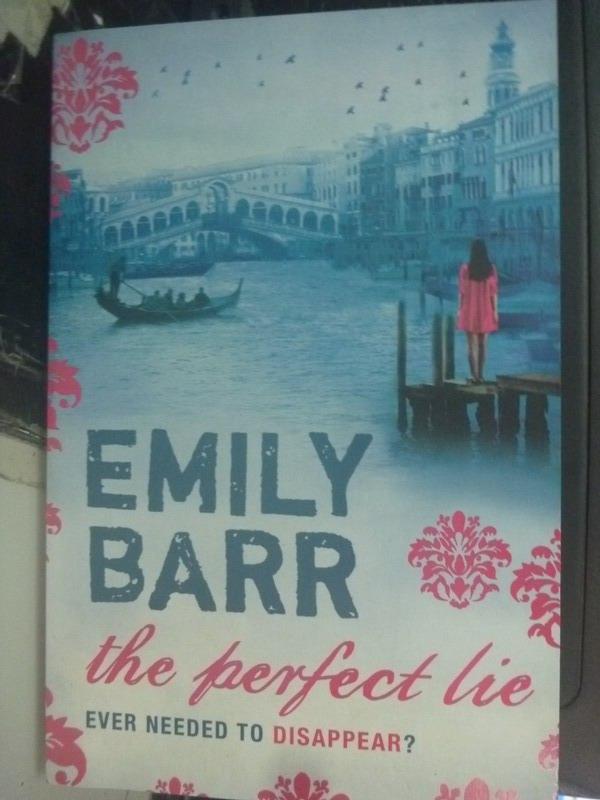 ~書寶 書T2/原文小說_ZHZ~The Perfect Lie_Barr Emily
