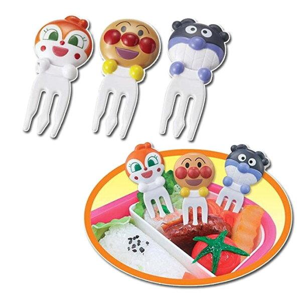 麵包超人食材固定叉造型叉水果叉日本帶回正版商品