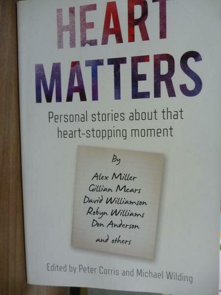 ~書寶 書T7/原文書_PMM~Heart Matters_Peter Corris