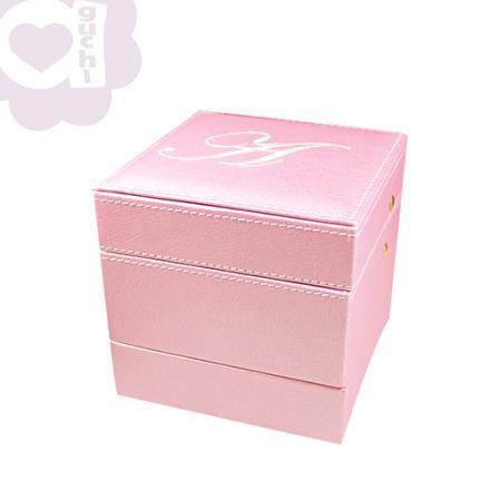 【Aguchi 亞古奇】皇家標記-優雅粉 珠寶盒(玩美精靈系列) 0