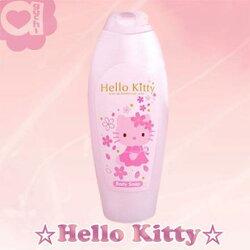 Hello Kitty 凱蒂貓 櫻花玻尿酸沐浴乳 最佳使用期限 : 2018/3/30