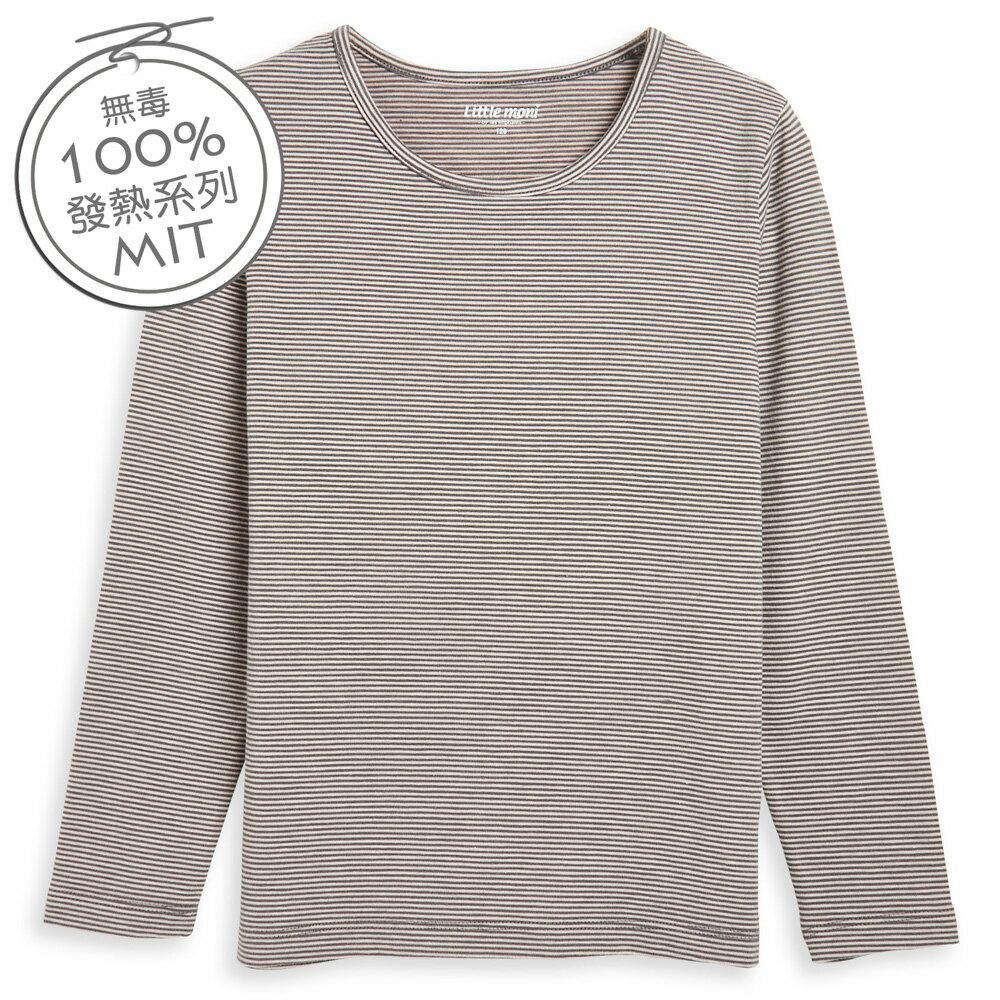 Little moni 發熱紗圓領上衣-灰色(好窩生活節) 0