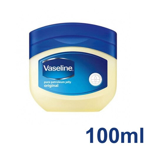 【 Vaseline 】美國原裝進口 凡士林 100ml 凡士林膏 預防龜裂 潤膚 保濕 - 2634