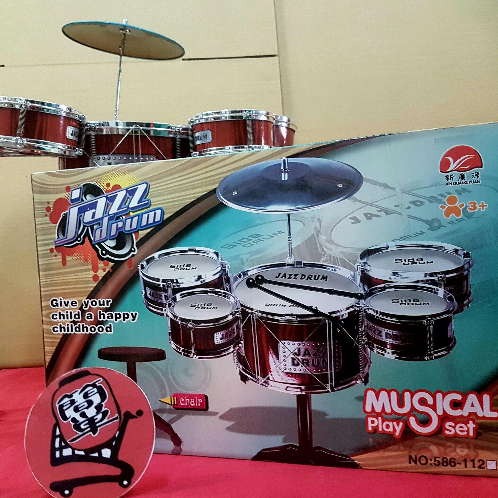 『簡?全球購』超人氣 兒童爵士鼓玩具 台灣商檢合格