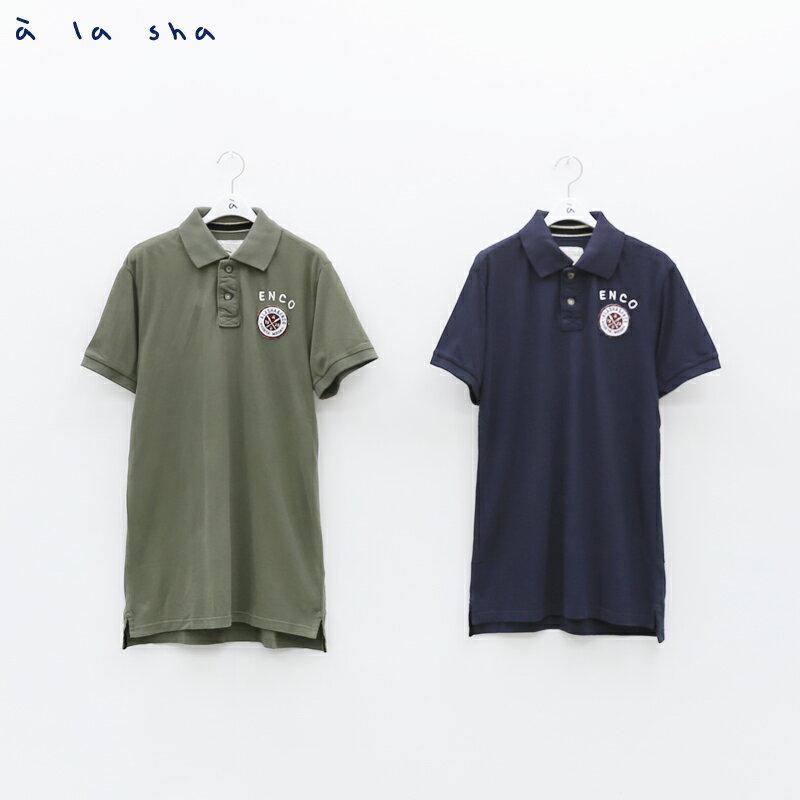 à la sha enco 圓形印花POLO衫(男) 2