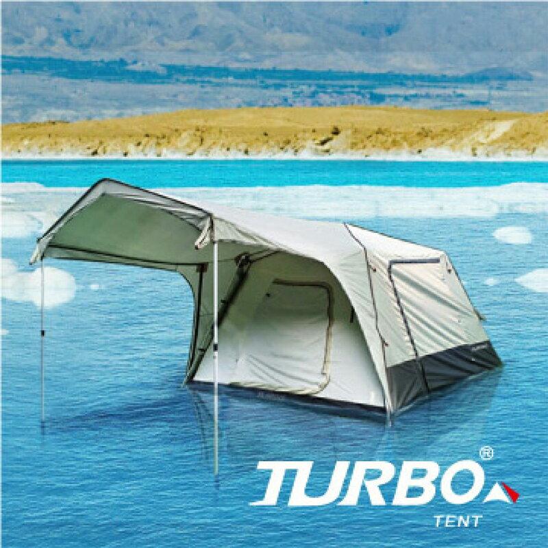 【露營趣】中和安坑 TURBO TT-TL270 TENT Lite 270 4-6人快速帳篷 專利快速帳 六人帳 30秒快速帳 速搭帳篷 鋁柱 露營 野營