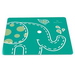 【加拿大MARCUS&MARCUS 】動物樂園矽膠餐墊-大象
