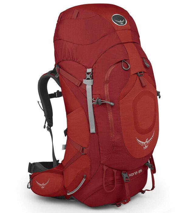 【鄉野情戶外用品店】 Osprey |美國| XENA 85 登山背包《女款》/重裝背包-寶石紅S/Xena85 【容量81L】