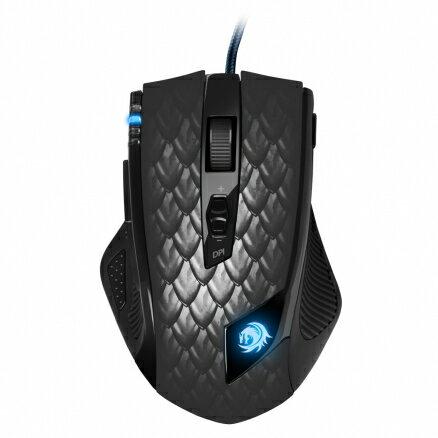 旋剛SharkoonDarkoniaBlack馭龍者黑色進階版雷射滑鼠電競滑鼠電競鼠遊戲滑鼠遊戲鼠電腦滑鼠【迪特軍】