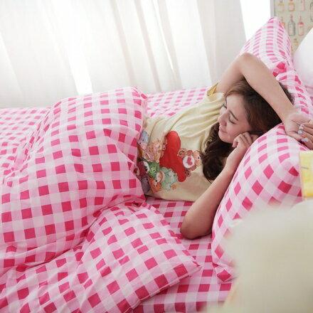 100%特級天然純棉床包組|床包被套組(單人/雙人/加大)台灣製【B089】【母親節推薦】