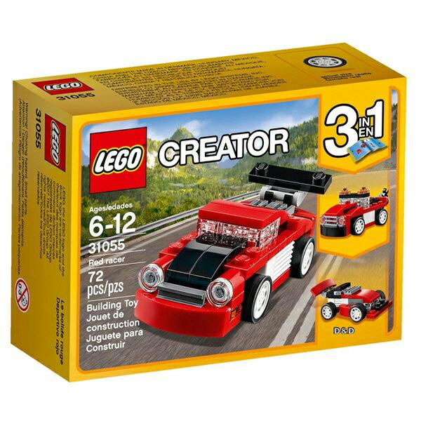 樂高積木LEGO《 LT31055 》2017年Creator 創意大師系列 - 紅色賽車