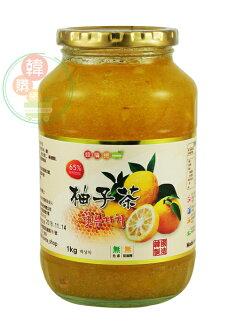 【韓購網】韓國Chamsali蜂蜜柚子茶1kg★打霜後的柚子,高達65%的柚子果肉製作★韓國柚子茶
