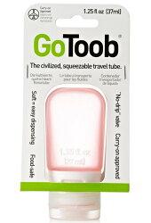 GoToob分裝瓶小37ml/旅行分裝瓶/乳液分裝瓶/矽膠分裝瓶 玫瑰紅 humangear美國旅行用品/台北山水