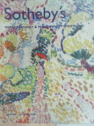 【書寶二手書T6/收藏_YJV】Sotheby's_Impressionist&Modern…One_2001/