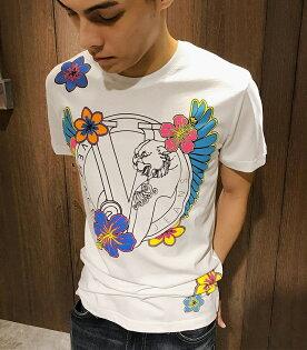 美國百分百【全新真品】VersaceJeans凡賽斯VJ短袖T恤logoT-shirt白色S號J120