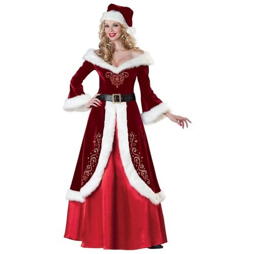 Women's Mrs. St. Nick Costume 0