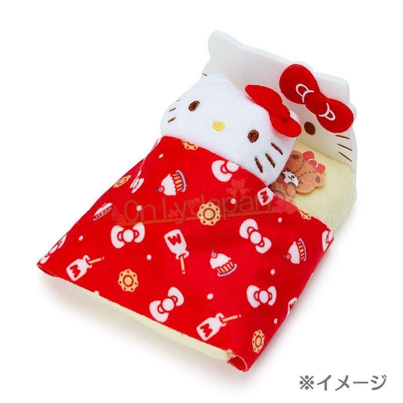 【真愛日本】4901610302804 絨毛手玉娃-KT紅ED91 凱蒂貓kitty 絨毛娃 手玉娃 娃娃 布偶 擺飾 收藏 禮物 4