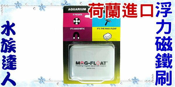 ~即期品  NG ~~水族 ~荷蘭 MAG~FLOAT~浮力磁鐵刷.厚玻璃 ~磁力超強 厚