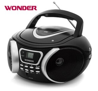 【WONDER旺德】手提MP3/CD音響 WD-9207M《刷卡分期+免運》