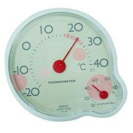 CRECER 室內溫濕度計(日本製)CR-140壁掛桌上兩用