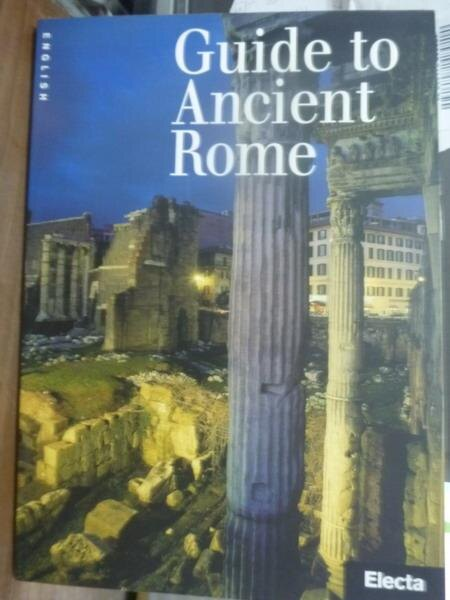 ~書寶 書T3/藝術_PIG~Guide to ancient Rome_Ada Gabu