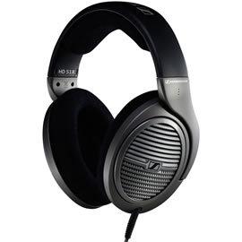 志達電子 HD518 德國聲海 SENNHEISER HD 518 頭戴全罩式高傳真立體耳機 宙宣公司貨