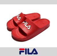 情人節禮物推薦到萬特戶外運動 FILA 4-S355Q 防水 超輕量 一體成形 無接縫 男女尺寸 運動 沙灘拖鞋 情侶鞋 復古經典 紅色