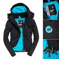 Superdry極度乾燥-女外套推薦到10月秋季購物節↘ ↘全店滿4000再折200!Superdry 極度乾燥 女款 Pop Zip Arctic SD-Windcheater 連帽防風夾克就在SIMPLE推薦Superdry極度乾燥-女外套