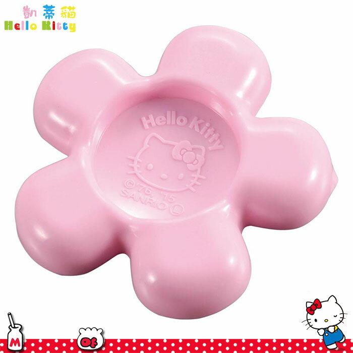 大田倉 日本進口正版HELLO KITTY凱蒂貓 塑膠調味料研磨盤 醬料盤 小碟子 收納碟花型 619740