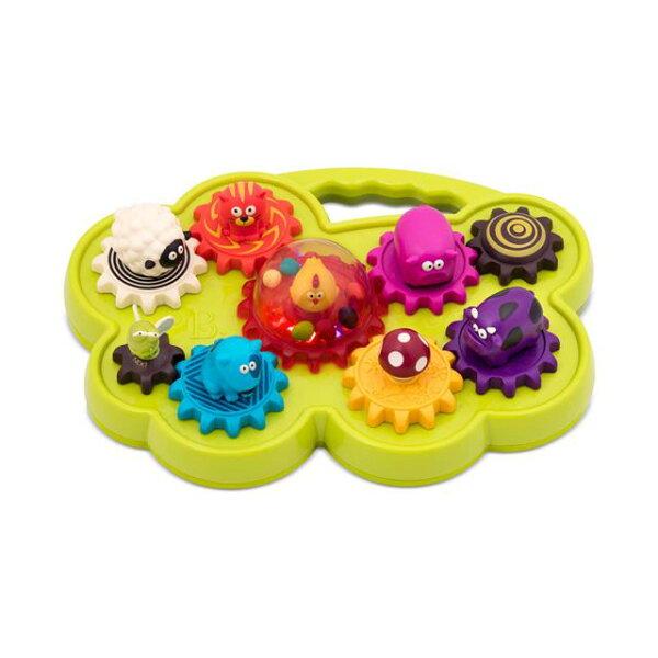 【奇買親子購物網】美國B.Toys轉圈圈合聲農場