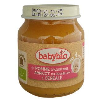 【安琪兒】法國【倍優babybio】有機鮮果米泥130g(4個月)