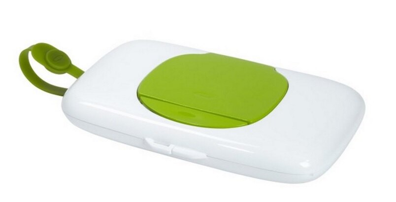 【淘氣寶寶】美國 OXO 外出濕紙巾盒 - 綠色【保證公司貨】
