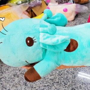 美麗大街【106101210】萌呆長頸鹿 玩偶抱枕娃娃