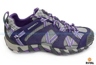 MERRELL 新竹皇家 WATERPRO MAIPO 紫/灰 防水 水陸兩棲 運動鞋 女款 NO.I6565