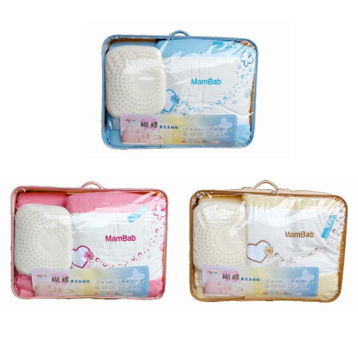 Mam Bab夢貝比 - 親親熊嬰兒床 台規中床 + 蝴蝶寢具八件組 加贈3D透氣床墊! 6