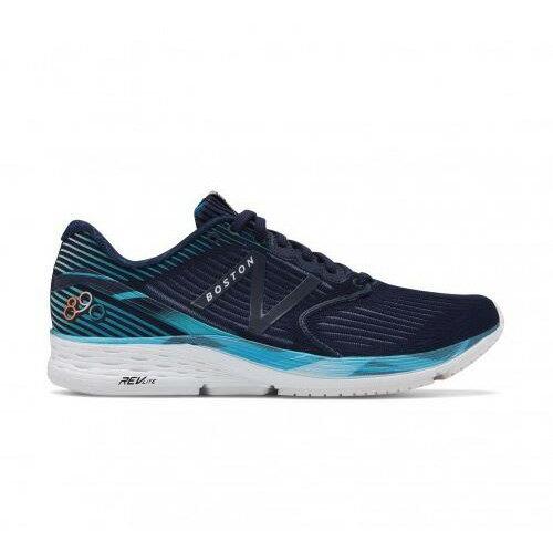 NewBalance男鞋慢跑波士頓馬拉松限定款輕量透氣黑藍【運動世界】M890BO6