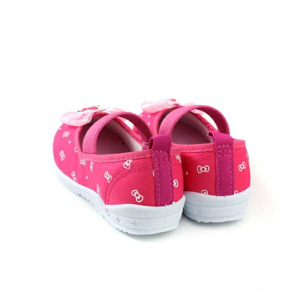 Hello Kitty 凱蒂貓 娃娃鞋 室內鞋 桃紅色 中童 童鞋 719818 no785 1
