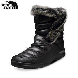 [ THE NORTH FACE ] 女 羽絨保暖雪靴 亮黑/亮珍珠灰 / 公司貨 NF0A2T5MNSX