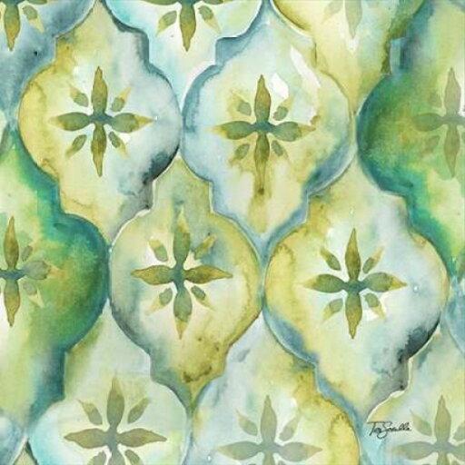 EAN 7435232430470 product image for Watercolor Arabesque III Rolled Canvas Art - Tre Sorelle Studios (12 x 12) | upcitemdb.com
