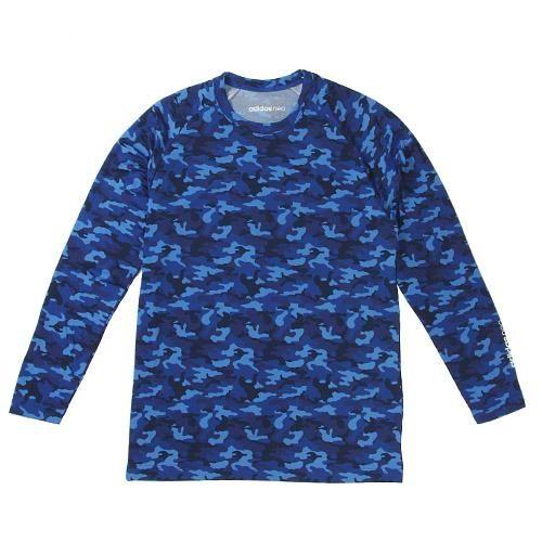 日本限定款adidas neo 刷毛長袖T恤迷彩448532海渡