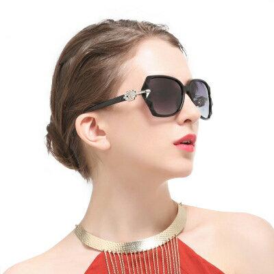 墨鏡異材質拼接時尚經典大框太陽眼鏡【KS7266】BOBI0315