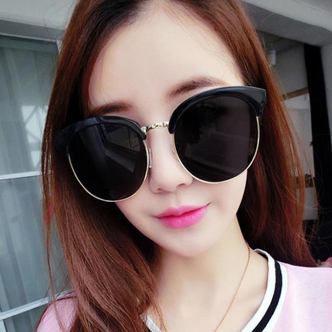 (現貨特價‧快速出貨)50%OFF SHOP【J021175GLS】2017新款復古大框太陽鏡 韓版時尚太陽眼鏡炫彩反光墨鏡眼鏡
