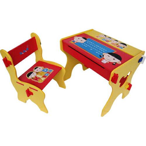 24分-K020 Kikimmy小博士畫板書桌椅組
