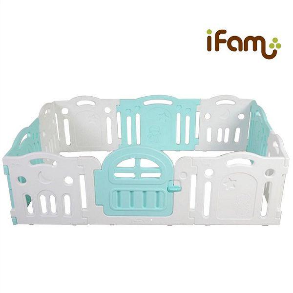 韓國 IFAM G尺寸遊戲圍欄 / 門欄 / 護欄-綠白搭好窩生活節 - 限時優惠好康折扣