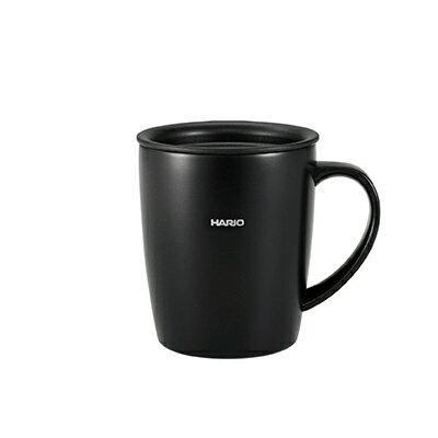 金時代書香咖啡 HARIO 史迪克霧黑保溫馬克杯 300ml SMF-300-B