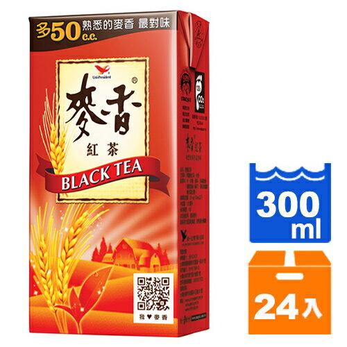 統一 麥香紅茶 300ml (24入)/箱