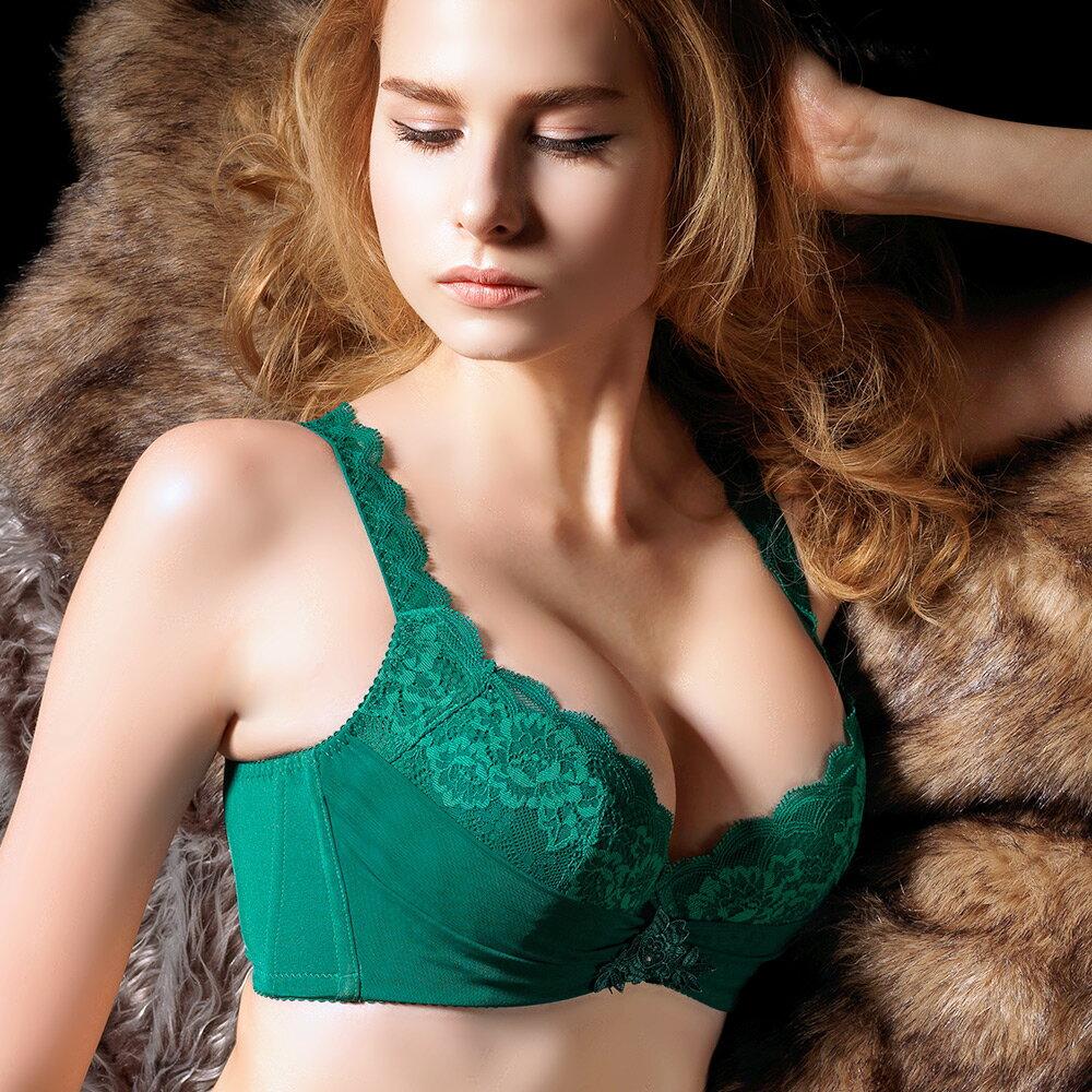 【Favori】魔力 美塑系列BCD罩杯內衣 (時尚綠) 0